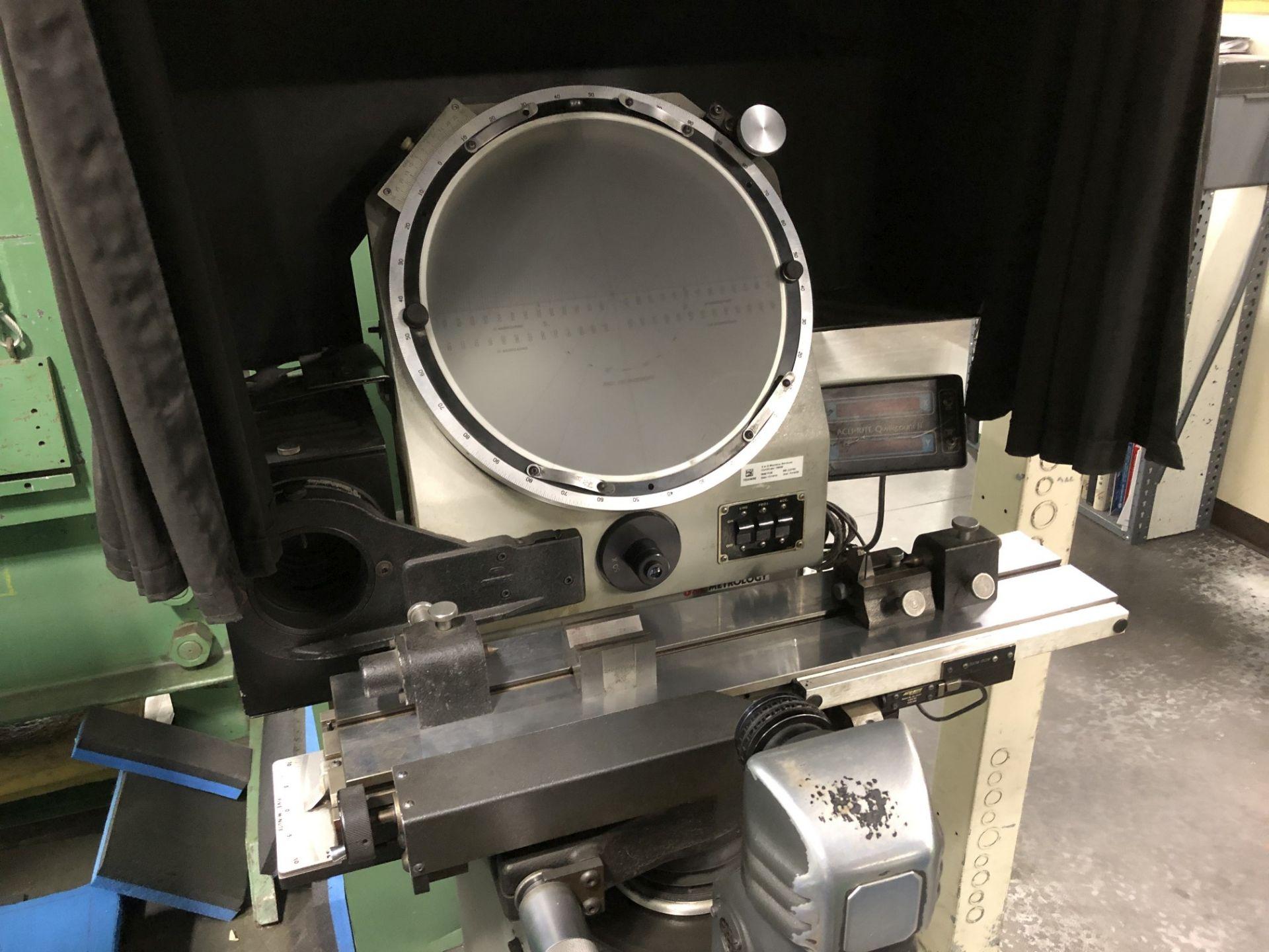 "Jones & Lamson 14"" Optical Comparator - Image 2 of 6"