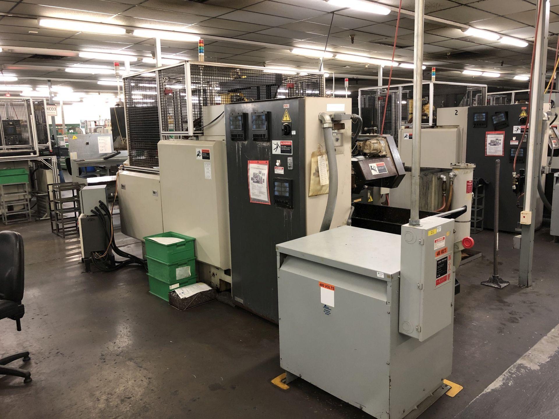 1999 Kitako MT4-200 Multi-Spindle CNC Turning Mill - Image 8 of 16