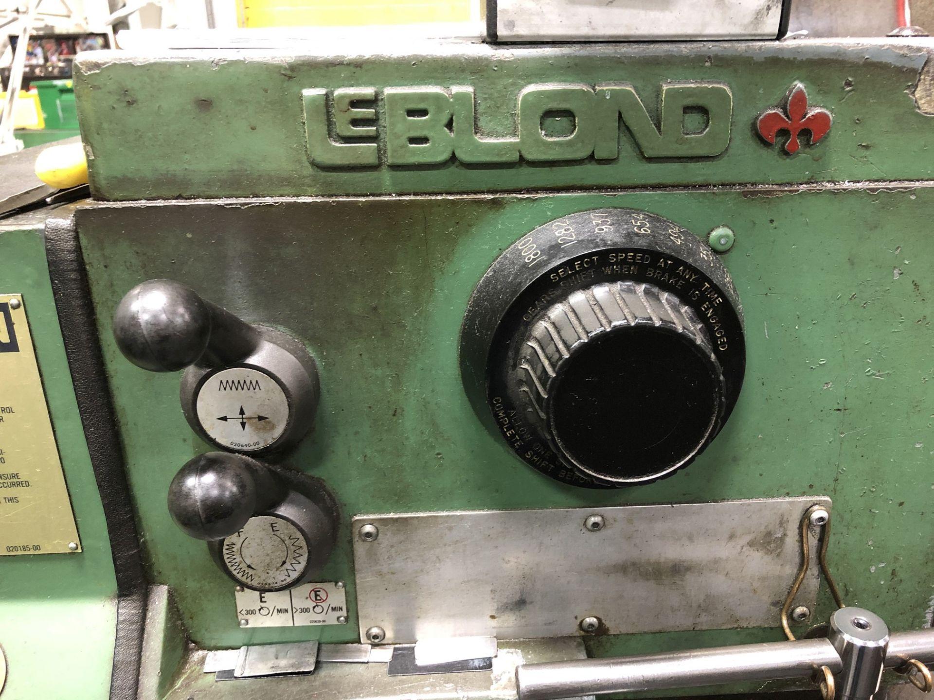 LeBlond Engine Lathe - Image 5 of 7