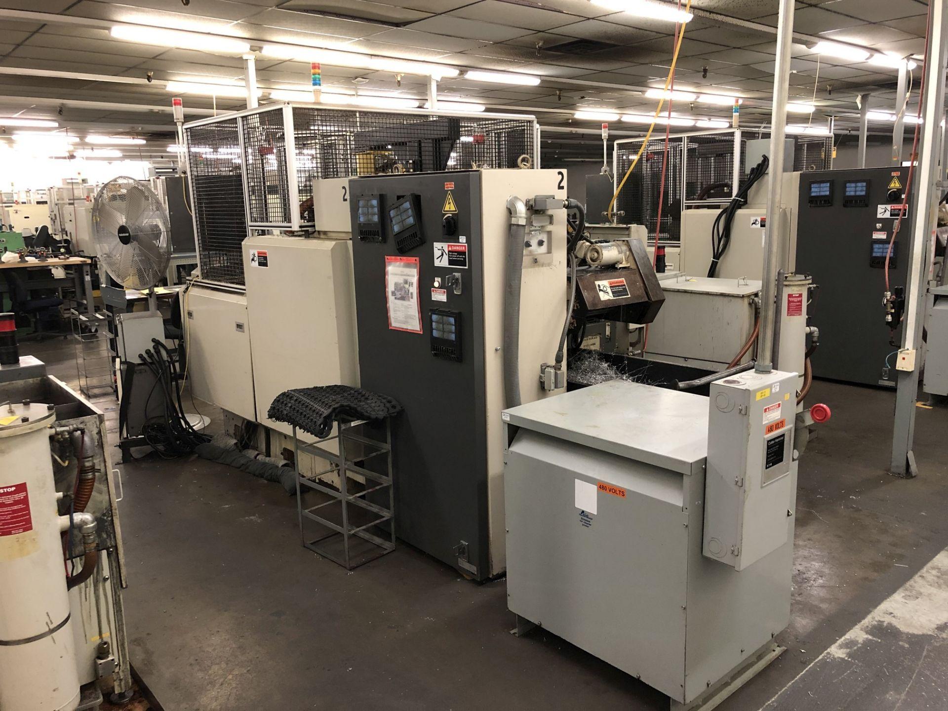 1999 Kitako MT4-200 Multi-Spindle CNC Turning Mill - Image 9 of 17