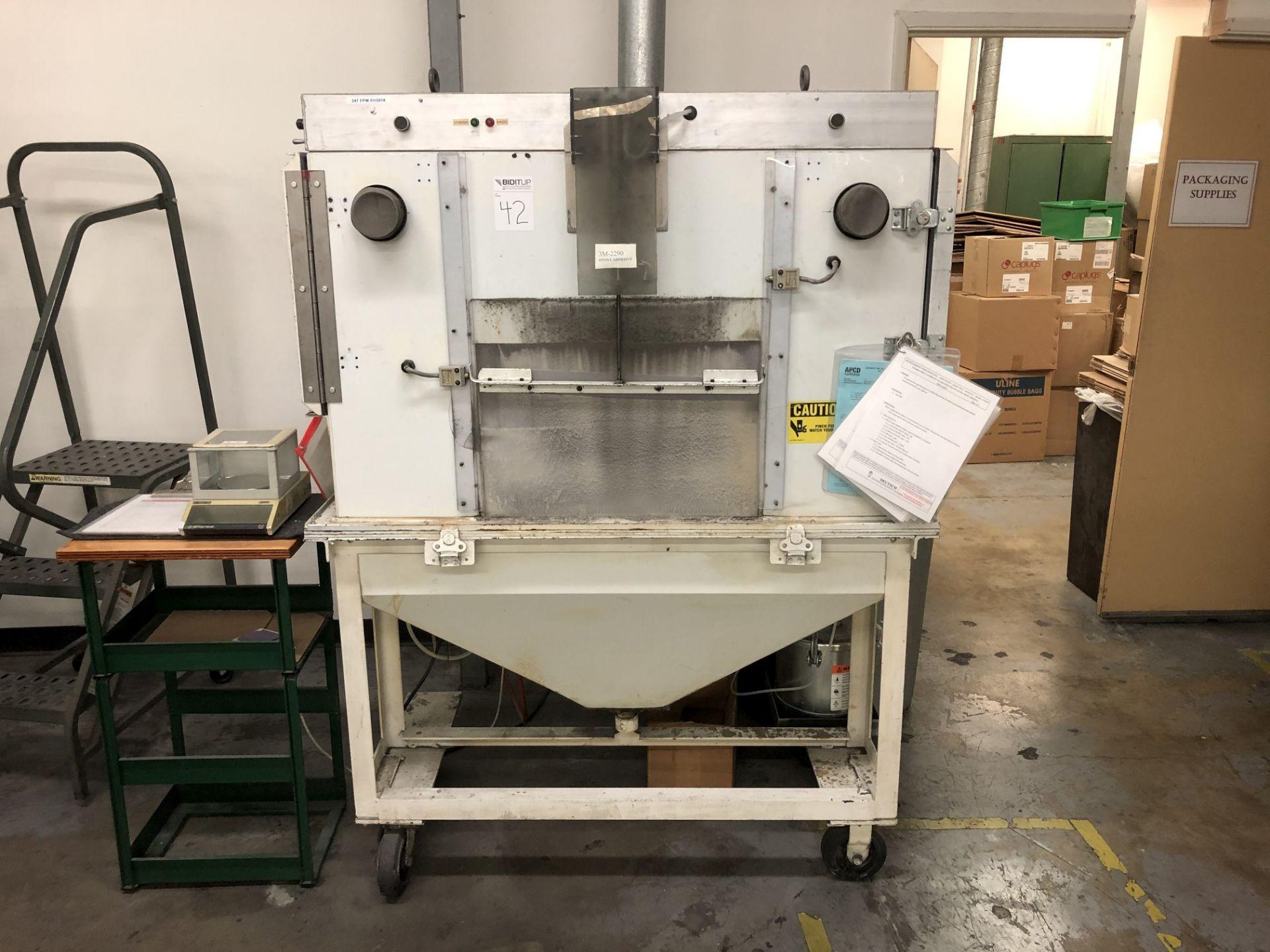 Adhesive Spray Booth (Custom Made)