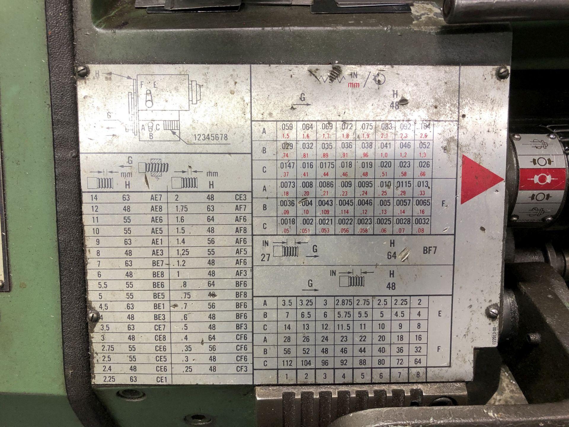 LeBlond Engine Lathe - Image 4 of 7