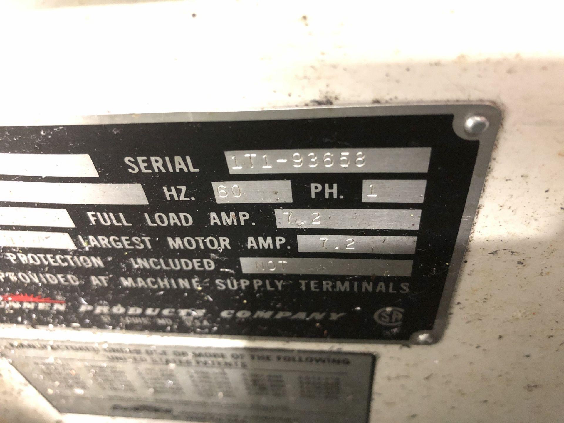 Sunnen MBB-1660 Precision Honing Machine - Image 7 of 8
