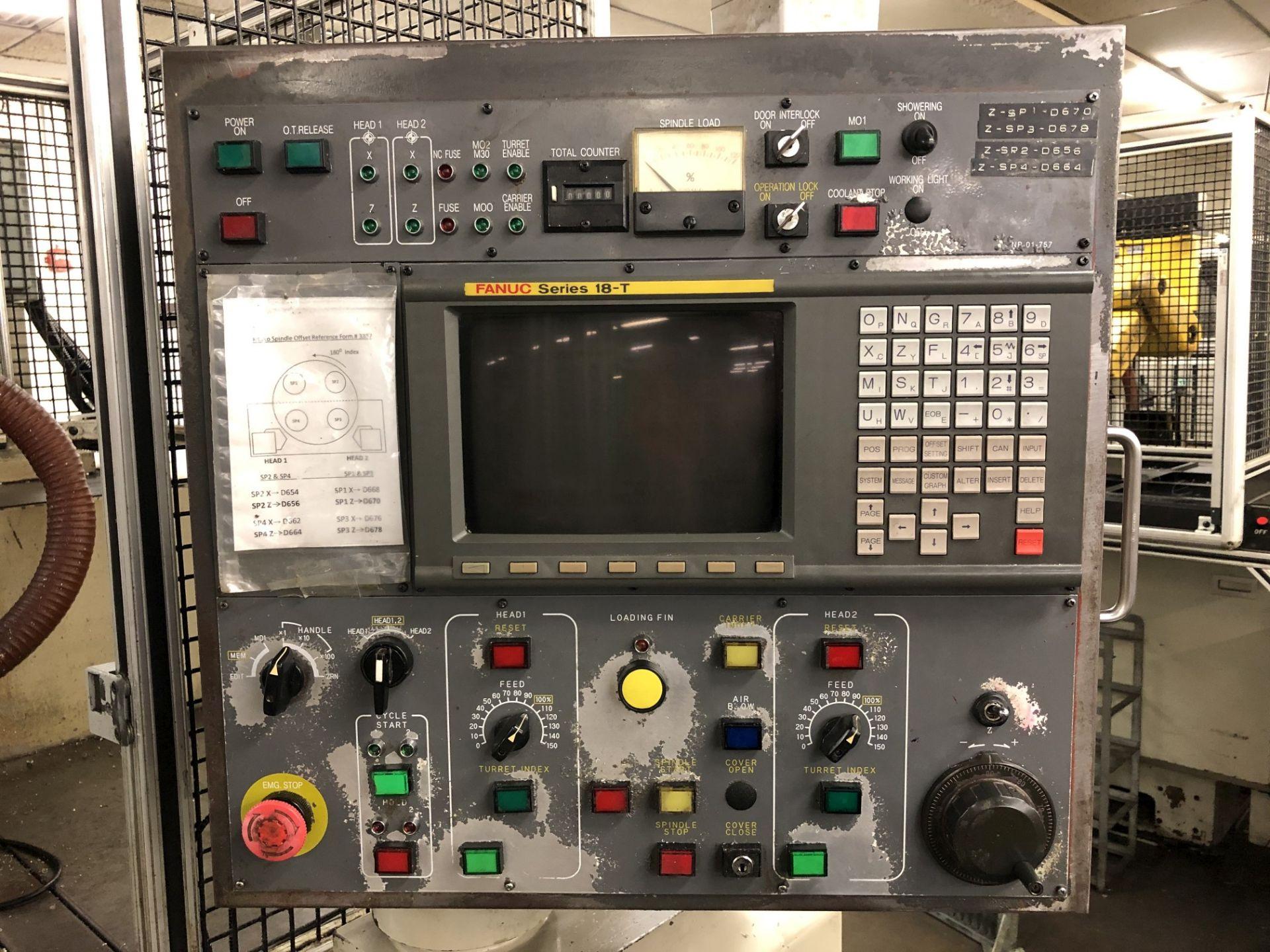 1999 Kitako MT4-200 Multi-Spindle CNC Turning Mill - Image 5 of 16