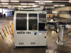 2004 Tornos DECO 10a Swiss-Type CNC Lathe; w/ Tornos Tool Presetter