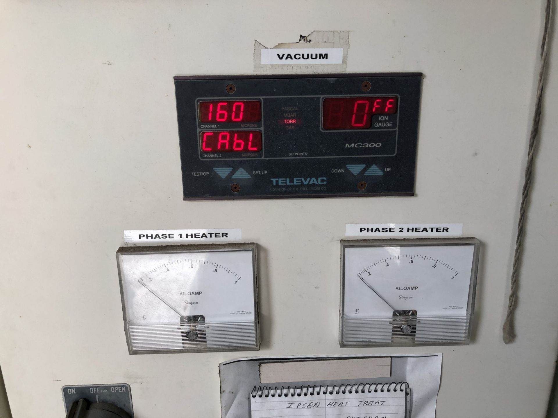 Ipsen Vacuum Furnace - Image 9 of 11