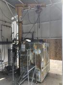 Procedyne Cleaning Furnace (Model PCF 2448); 1/2-Ton Jib Crane w/ Dayton Hoist