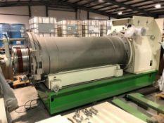 Netzsch Model LME 1200 K stainless steel polyurethane lined bead mill