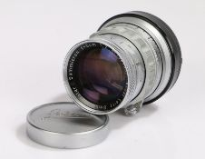 Ernst Leitz Wetzlar Summicron camera lens, f=5cm, f/2, Nr. 1541552