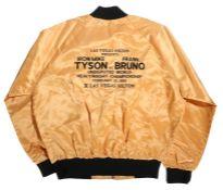 Las Vegas Hilton Presents Tyson Vs Bruno, Heavyweight Championship February 25 1989, an Acetate