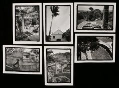 Barry McKinley - Set of six silver gelatin print photos, with the artist's stamp to the reverse,