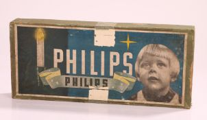 1950s Philips Christmas lights, housed in its original box