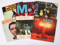 6 x Jazz LPs. Count Basie - Basie ( R 52003 ). Duke Ellington - Toast To The Duke ( TP 201 ).