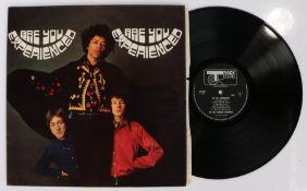 The Jimi Hendrix Experience - Are You Experienced LP ( 612 001).Vinyl / sleeve : VG / VG ; pen mark