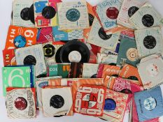 """Collection of Pop / Rock 7"""" singles. Artists to include Joe Browne, Cher, The Crickets, Bob Dylan,"""