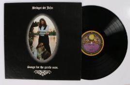 Bridget St John - Songs For The Gentle Man LP ( DAN 8007 ), Gate fold textured sleeve.