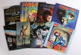 """8 x Marillion 7"""" singles. Punch And Judy ( MARIL 1 ). Kayleigh ( MARIL 3 ). Heart Of Lothian ( MARIL"""