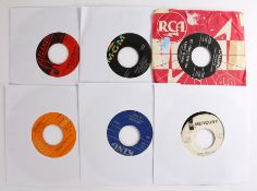 """7 x R & B 7"""" singles. Lavern Baker - So High So Low ( 452033 ). The Isley Brothers - Twistin' with"""