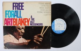 Art Blakey And The Jazz Messengers - Free For all LP ( BLP 4170 ), first pressing.Vinyl / Sleeve :