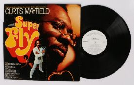 Curtis Mayfield - Super Fly LP ( CRS 8014 ST ). Die-cut Sleeve.