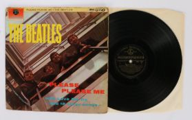 The Beatles - Please Please Me LP ( PMC 1202 ). first pressing with black and gold label.Vinyl/