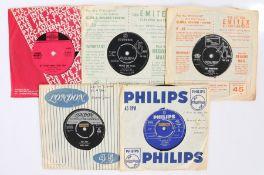 "5 x R&B 7"" singles. Georgie Fame, The Four Tops, Dobie Gray, Nina Simone, Dionne Warwick."