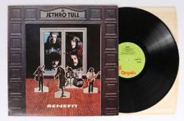 Jethro Tull - Benefit LP (ILPS 9123) green label.