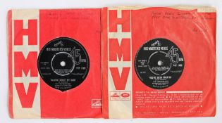 """2 x The Impressions 7"""" singles. Talking About My Baby / Never Too Much Love ( POP 1262 ). You've"""