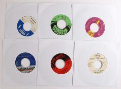 "6 x R & B 7"" singles. Bill Doggett - Slow Walk ( 45 5000 ). The Friends Of Distinction - Grazing"