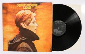 David Bowie - Low LP ( PL12030 ), first pressing, black label with insert.Vinyl : E, Sleeve : G