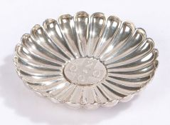 Elizabeth II silver Millennium dish, Sheffield 2000, maker Henry Carr with central 2000 cross