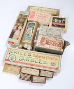 Collection of boxes of Price's candles (qty)