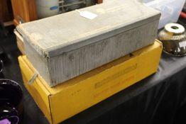 Iskra Carbon Film Resistors, housed in original tubes and box, Kodak Extrachrome Film processing