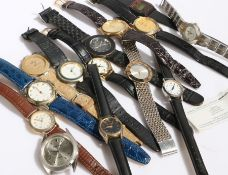 Collection of wristwatches, to include Geneva, Shivas, Avia, Sekonda etc. (qty
