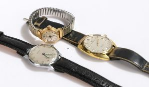 Gentlemans wristwatches by Perona and Pierpoint Watch Co. ladies Timex wristwatch (3)