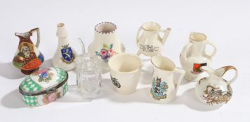 Collection of miniature jugs and jars, (Qty)