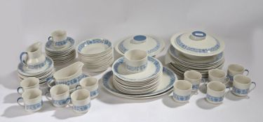 Quantity of Royal Doulton 'Cranbourne' dinner and coffee ware, to include two tureens, sauce boat,