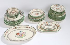 Copeland Spode Chinese Rose service, to include dinner and tea services (qty)