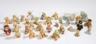 Collection of various Cherished Teddies models (qty)