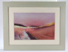 Sylvia Maitland (Contemporary) The Joy of Colour, oil on board, 52cm x 35cm