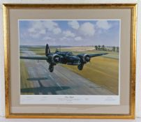 Michael Turner, pencil signed limited edition print, 'First Flight', numbered 337/850, housed within