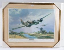 Frank Wootton, pencil signed limited edition print, 'Blenheim MKIV, A Blenheim Will Fly Again',