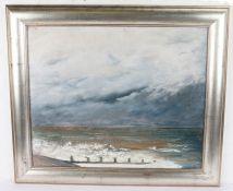 Wheatley (20th Century British school) Waves and Beach, 55cm x 45cm