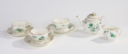 Royal Worcester 'Reproduction of Early Worcester Circa 1760', quantity of teaware, comprising