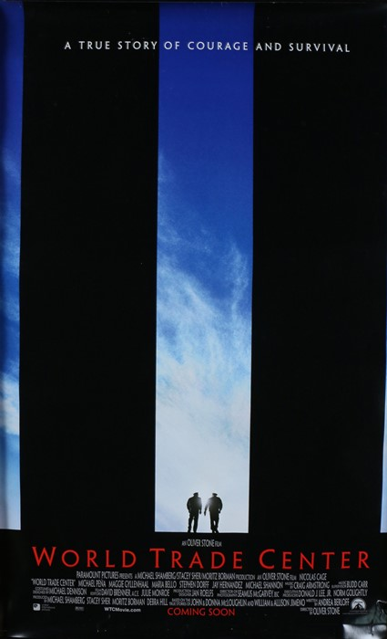 World Trade Center (2006) - British one-sheet film poster, starring Nicolas Cage, Maria Bello, and
