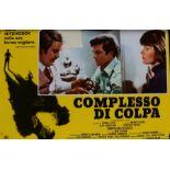 Obsession (Complesso Di Colpa Italian release, 1976) - Italian photobusta poster, starring Cliff