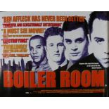 Boiler Room (2000) - British Quad film poster, starring Giovanni Ribisi, Vin Diesel, Nia Long and