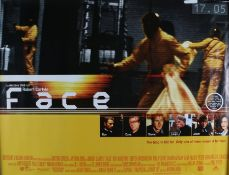 Face (1997) - British Quad film poster, starring Robert Carlyle and Ray Winstone and Damon Albarn,