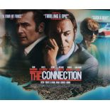 The Connection (2014) - British Quad film poster, starring Jean Dujardin and Gilles Lellouche,