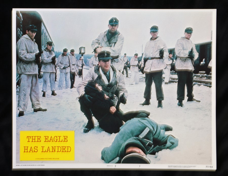 The Eagle Has Landed (1976) - American lobby card, starring Michael Caine, Donald Sutherland, and